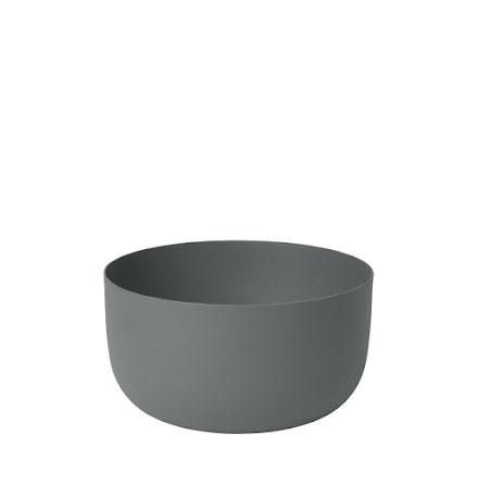 REO Skål, H 7 cm Ø 13 cm, Medium, Pewter