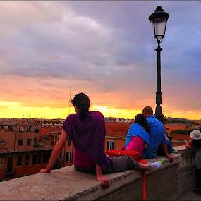 Rome Sky by Stephen Lang - City,  Street & Park  Skylines ( #documentary, #rome, #travel )