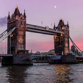 Tower bridge at sunset by Salvatore Amelia - Buildings & Architecture Bridges & Suspended Structures
