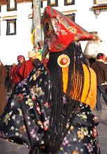Photo: Amdo pilgrim at Lhasa, Barkor Square ...