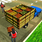 Offroad Fruit Transporter Truck: Driving Simulator Icon