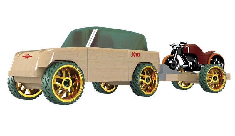Contenido de Automoblox® X10 Timber Pack