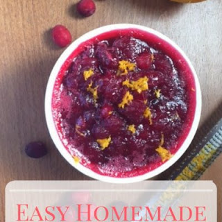 Cranberry Sauce With Frozen Cranberries Recipes