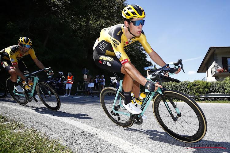 Staat van Aert gele trui af aan ploegmaat in tweede etappe Dauphiné?