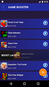 Game Booster: 2X Speed for games 3