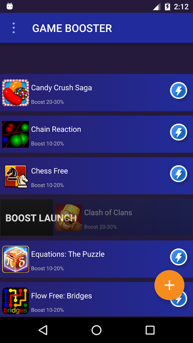 Game Booster: 2X Speed for games Screenshot 2