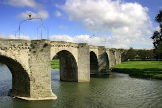 Photo: Le Pont Vieux brúin nálægt Carcassonne