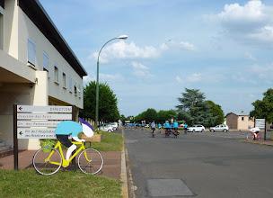 Photo: Arrivée à l'Hôpital Barthélémy Durand