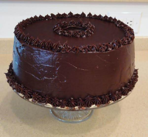 Chocolate Angel Food Cake-chocolate Ganache Icing Recipe