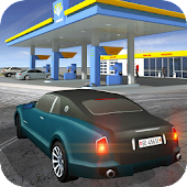 Gas Station Car Driving Game
