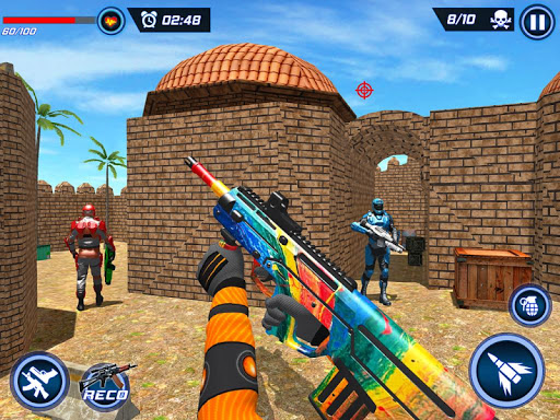 FPS Robot Shooter Strike: Anti-Terrorist Shooting apkpoly screenshots 24