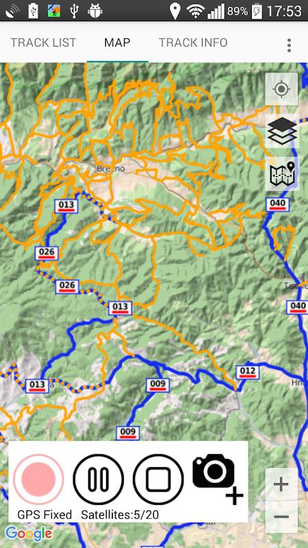 GPS Tracker screenshots