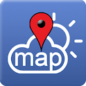 Weather Map - USA / Entire World icon