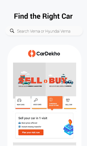 CarDekho: Buy/Sell New & Second-Hand Cars, Prices screenshot 1