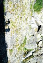 Photo: Chiara Malengo - Ombre sulla ferrata bunker - Ferrata di Claviere