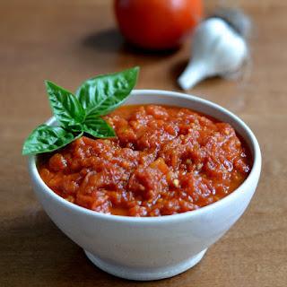 Fresh Marinara Sauce.