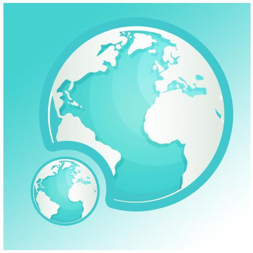 通讯の衛星地図 E LOGO-記事Game