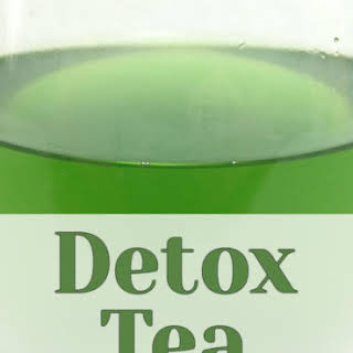 Iced Detox Green Tea.