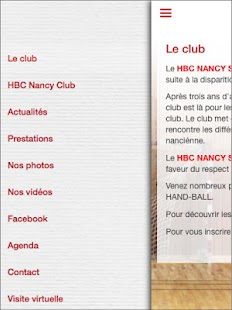 Nancy SLUC Handball – Vignette de la capture d'écran