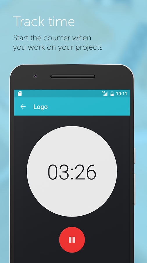 Worktimer -  Track your time- screenshot