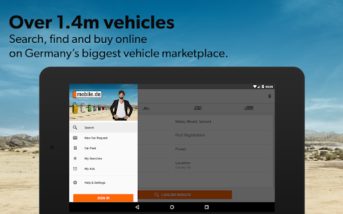mobile.de – vehicle market Screenshot 17