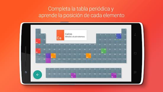 Atom tabla peridica tests aplicaciones de android en google atom tabla peridica tests miniatura de captura de pantalla urtaz Choice Image