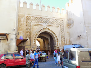 Photo: One of the many gates entering the medina.