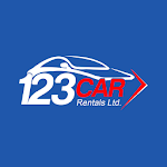 123 Car Rental Icon
