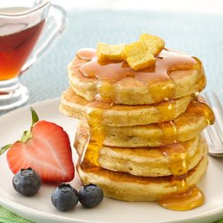 Mini French Toast Pancakes.