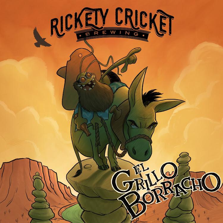 Logo of Rickety Cricket Brewing El Grillo Borracho