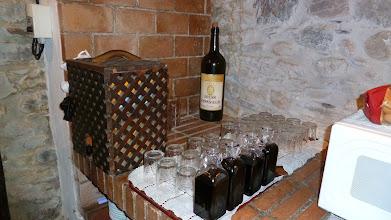 Photo: Vino en la Casa del Reloj Molinaseca