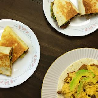 "Philly ""Cheesesteak"" Quesadillas Recipe"