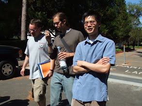 Photo: David, Andy, and Daniel