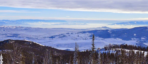 Photo: Helena Valley from Granite Butte