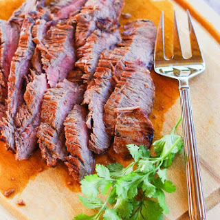 Easy Marinated Flank Steak.
