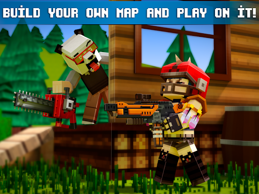 Mad GunZ - FPS online shooter, map craft  screenshots 4