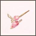 桜色の玉簪