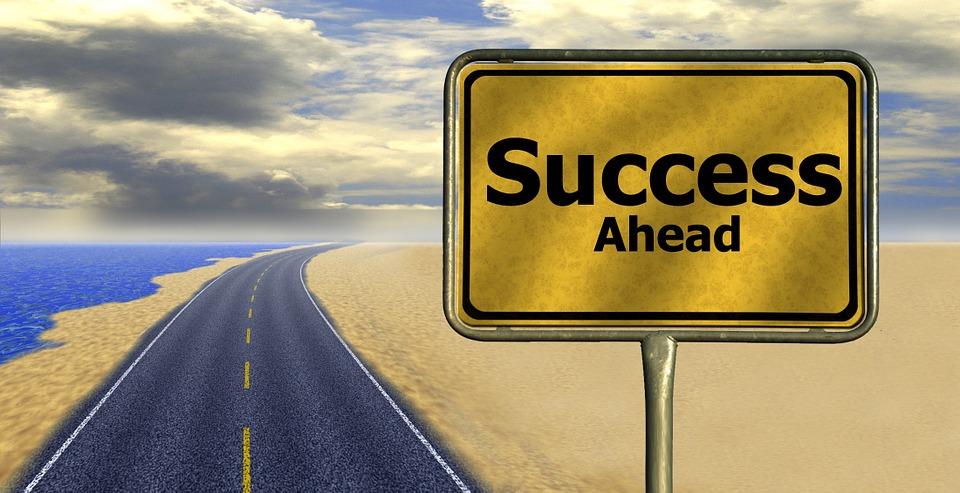 Career, Road, Away, Way Of Life, Success, Road Sign