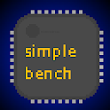 simple CPU bench icon