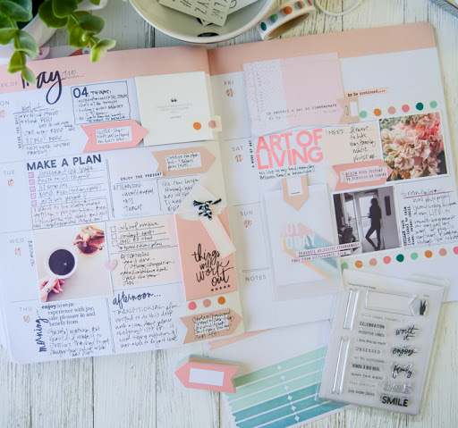 10 Things Found On a Memory Planner Page