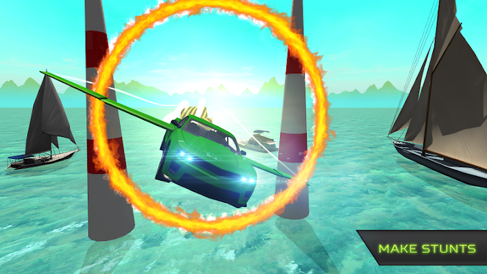 Flying Stunt Car Simulator - screenshot