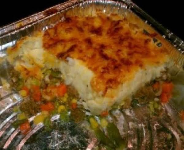 Farrah's Quick Sheppard's Pie Recipe