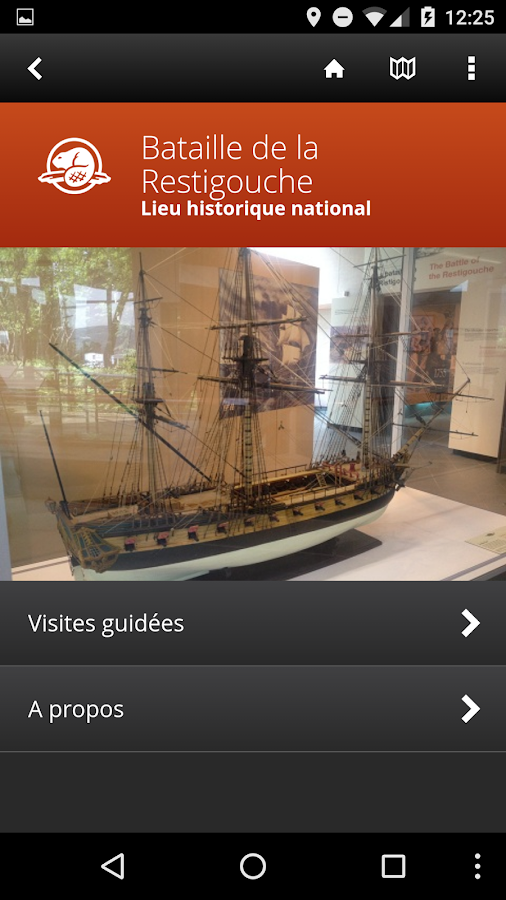Visite guidée de la Ristigouche- screenshot