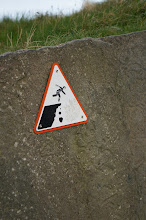 Photo: Don't trip and fall down the Cliffs of Insanity!