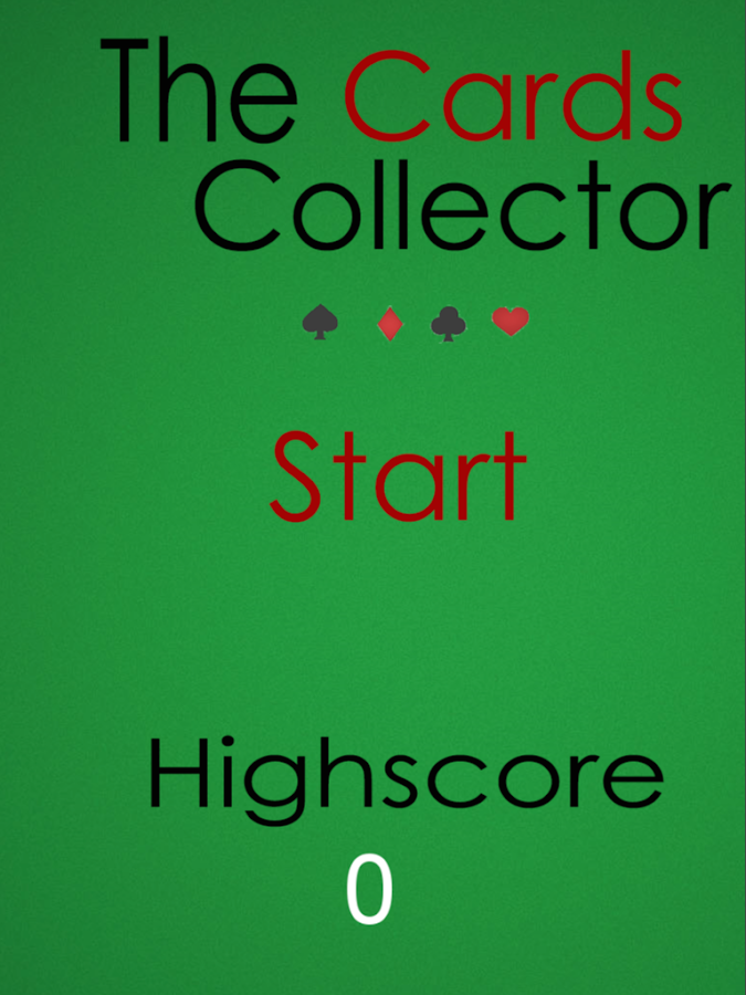 The Cards Collector- screenshot