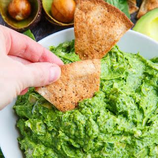 Avocado Spinach and Artichoke Dip.