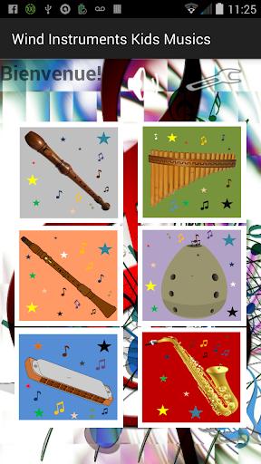 Wind Instruments Kids musics