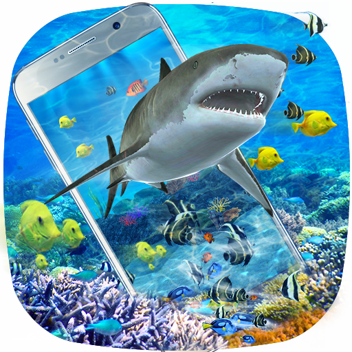 3D Ocean Shark Theme(shake&get effect) file APK for Gaming PC/PS3/PS4 Smart TV