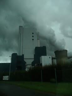 Braunkohle-Kraftwerk Niederaußem.