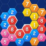 Merge Hexa Block Puzzle: Free Number Game icon